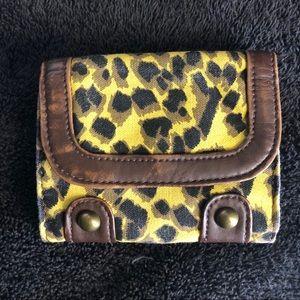 Leopard Print Wallet!